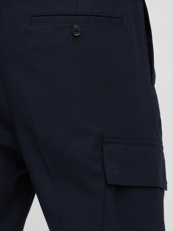 SASHA CARGO TROUSERS, JL Navy, large