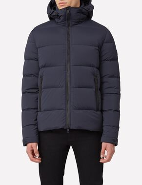 BARRY 77 STRETCH NYLON DOWN PUFFER JACKET