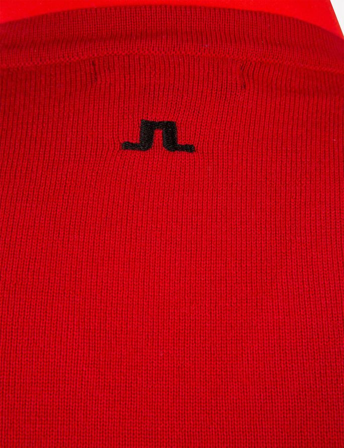 TRU TRUE MERINO VEST, Racing Red, large