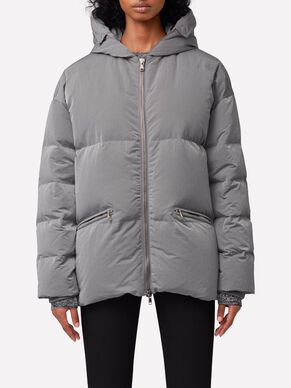 SLOANE NICKEL MEMO PUFFER JACKET