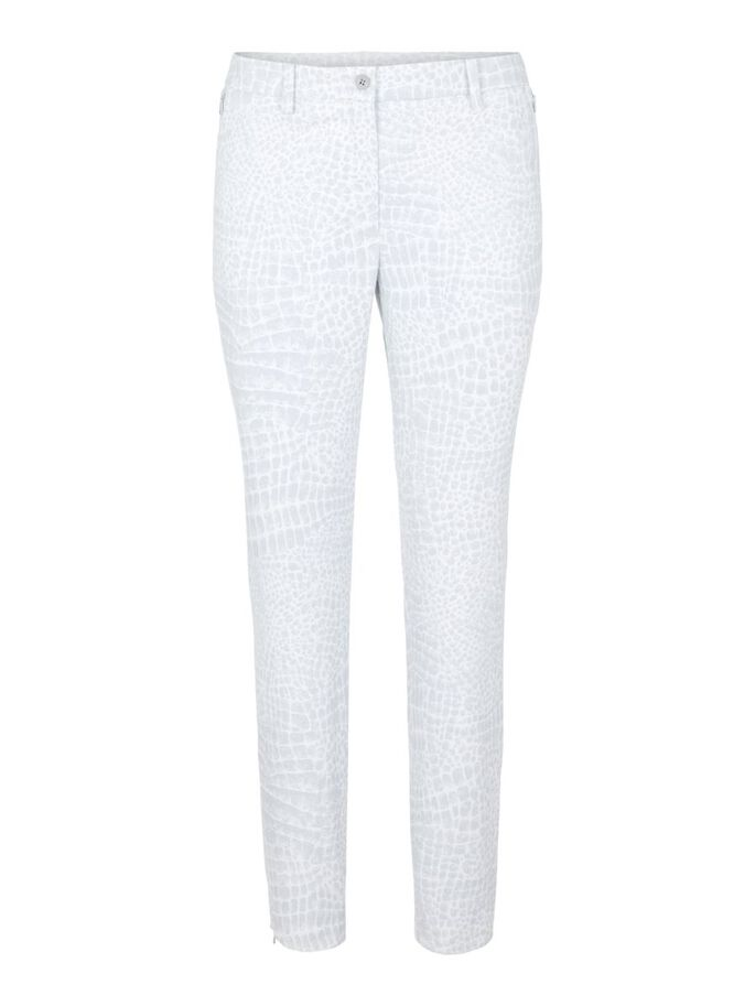 PIA TROUSERS, Micro Chip Croco, large