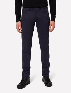 GRANT 5-PKT CONTRASTERENDE TWILL JEANS
