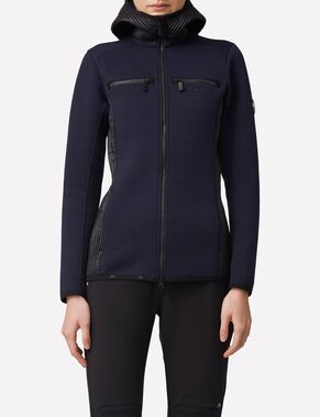 REGAL MID TECHNO JERSEY- SWEATJACKE