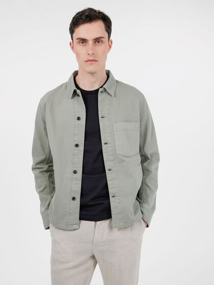 FLEET OVERDYED SHIRT JACKET