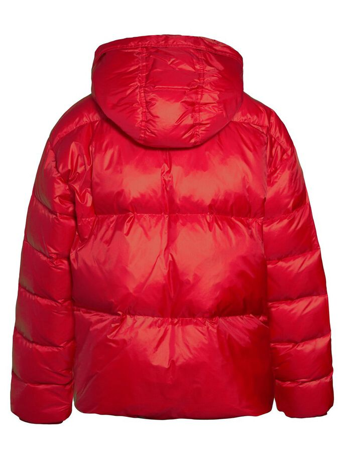 SLOANE SHINY POLY DOWN JACKET, Red Deep, large