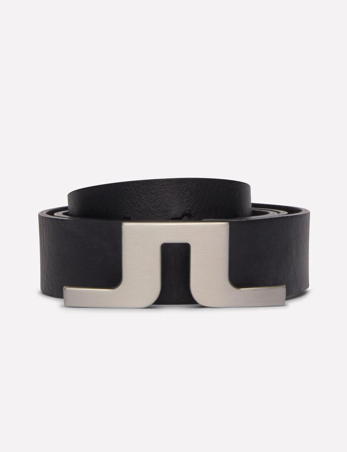 BRIDGER PRO LEATHER BELT, Black, large
