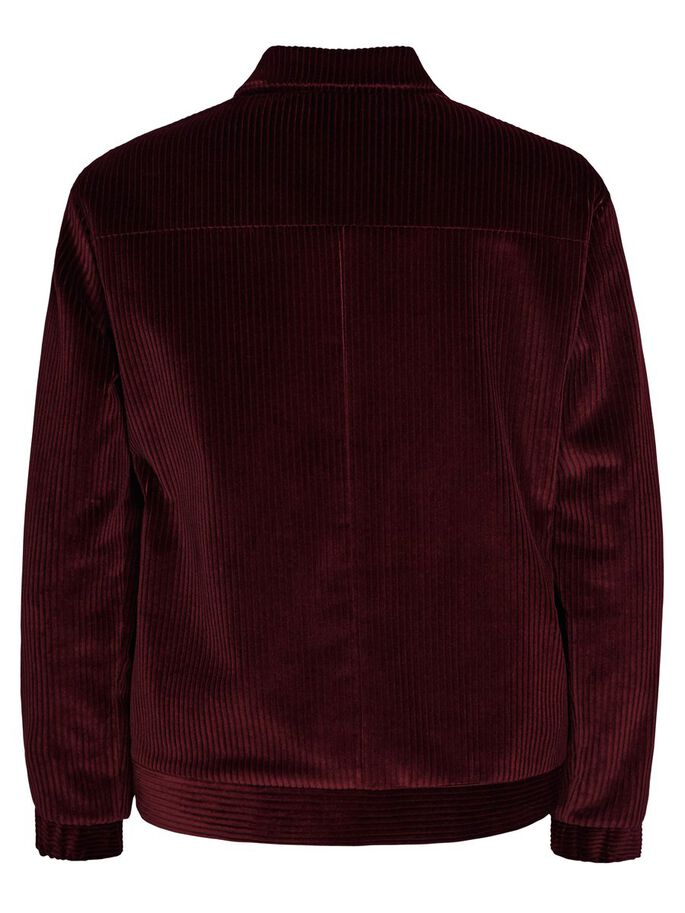 JASON FERMETURE ÉCLAIR WHALES VESTE, Dusty Burgundy, large