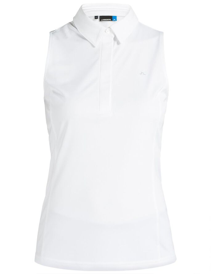 DENA TX JERSEY POLO SHIRT, White, large