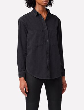TRAN SMOKE DENIM SHIRT