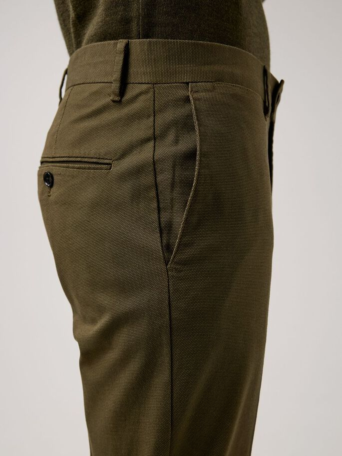 GRANT MICRO TEXTURE TROUSERS, Seaweed Green, large