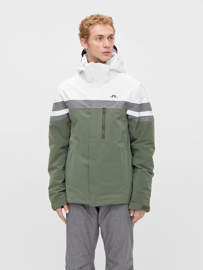 SLUSHER SKI JACKET, Thyme Green, large