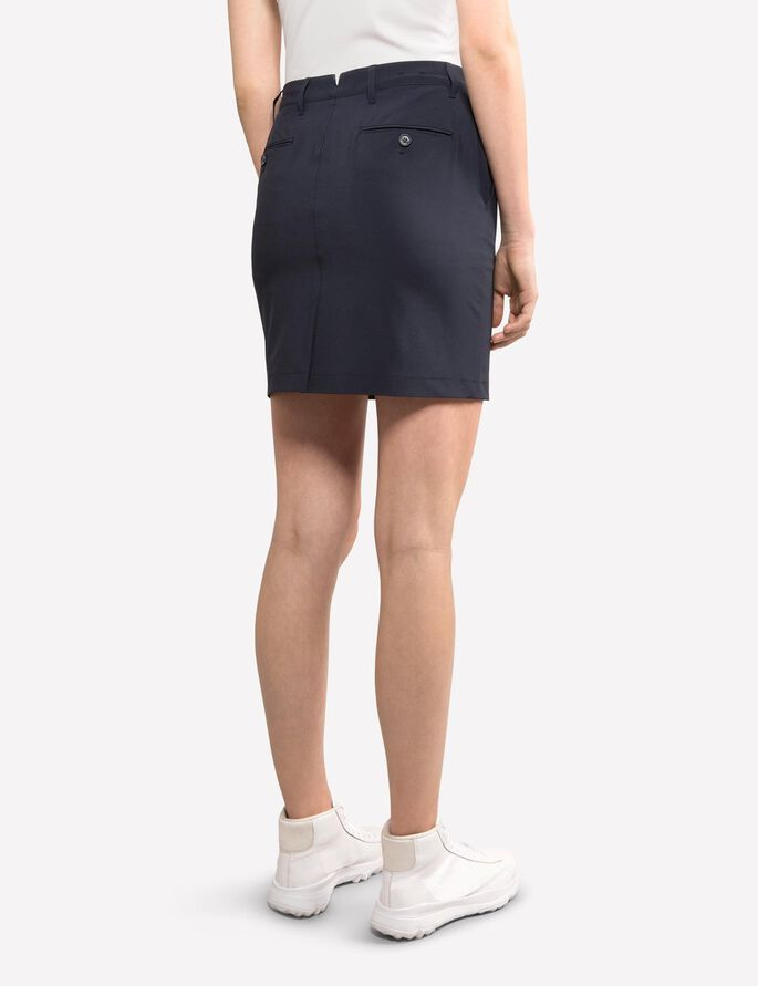 ALLIE MICRO STRETCH SKIRT, JL Navy, large