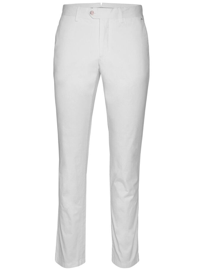 OLIVER 2.0 LIGHT TWILL TROUSERS, White, large