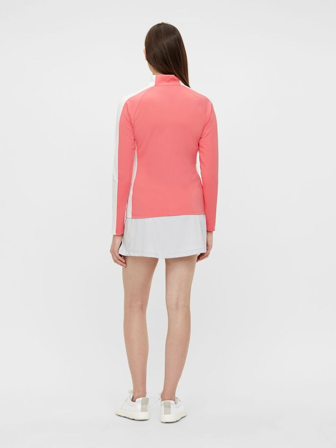 MARIE MID LAYER JACKET, Tropical Coral, large
