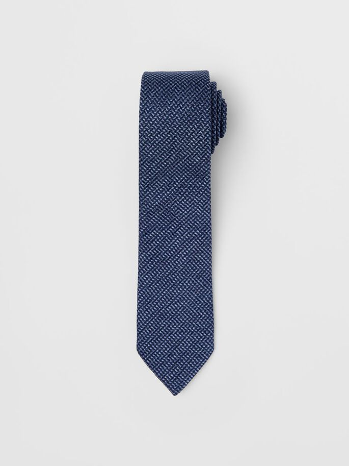 LALLE MIXED TIE, Lake Blue, large
