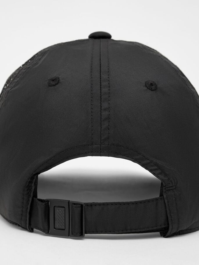CARL CAP, Black, large