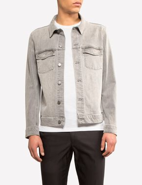 MAX GREYING DENIM JACKET