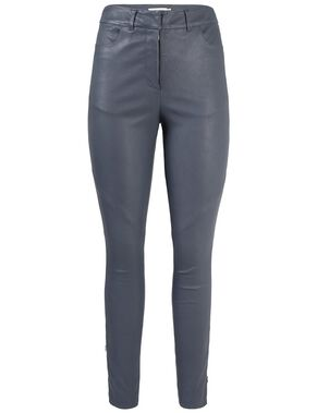 KATH HIGH-WAIST STRETCH LEATHER PANTS