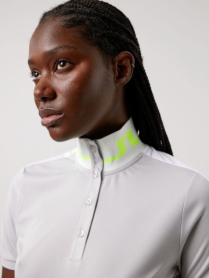 PIPER POLO SHIRT, Micro Chip, large