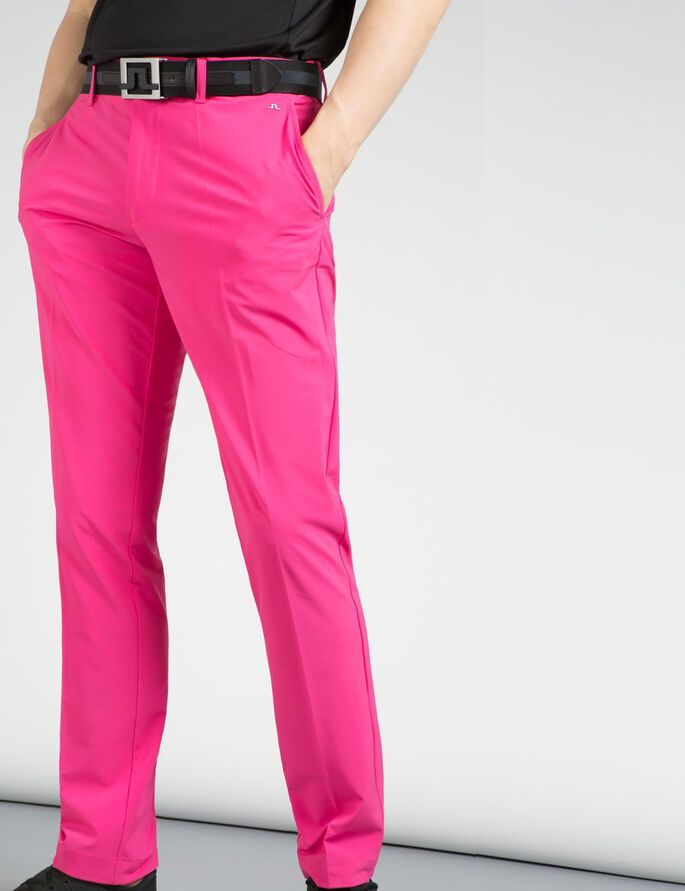 ELLOTT TIGHT FIT MICRO STRETCH BUKSER, Pink Intense, large