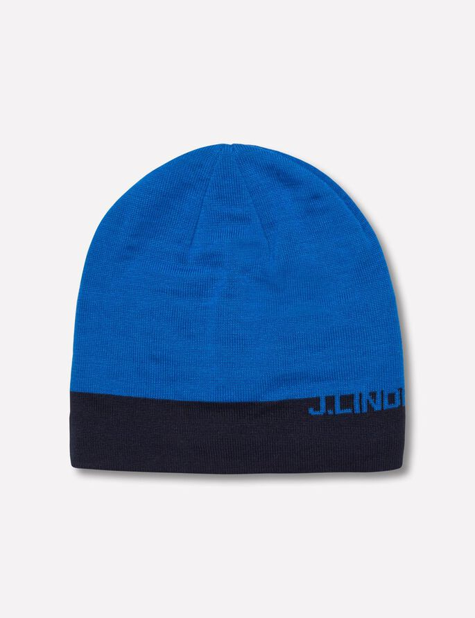 AELLO STRIPED BEANIE, Strong Blue, large
