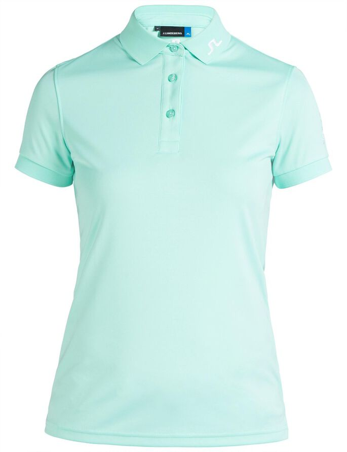 TOUR TECH TX JERSEY POLO SHIRT, Mint, large