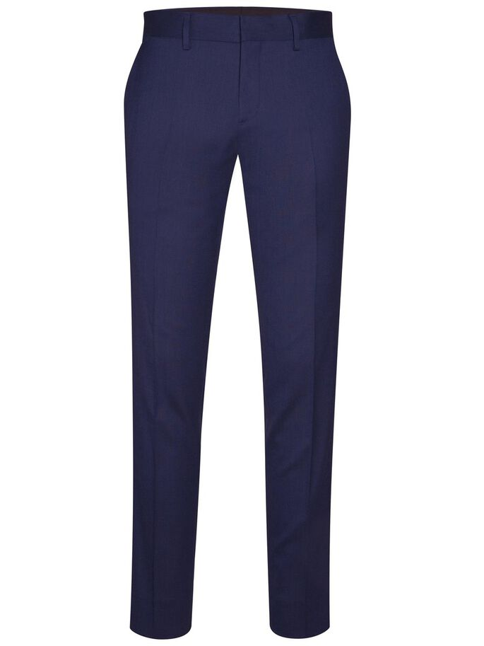 PAULIE LÉGENDE TECH PANTALON DE COSTUME, Mid Blue, large