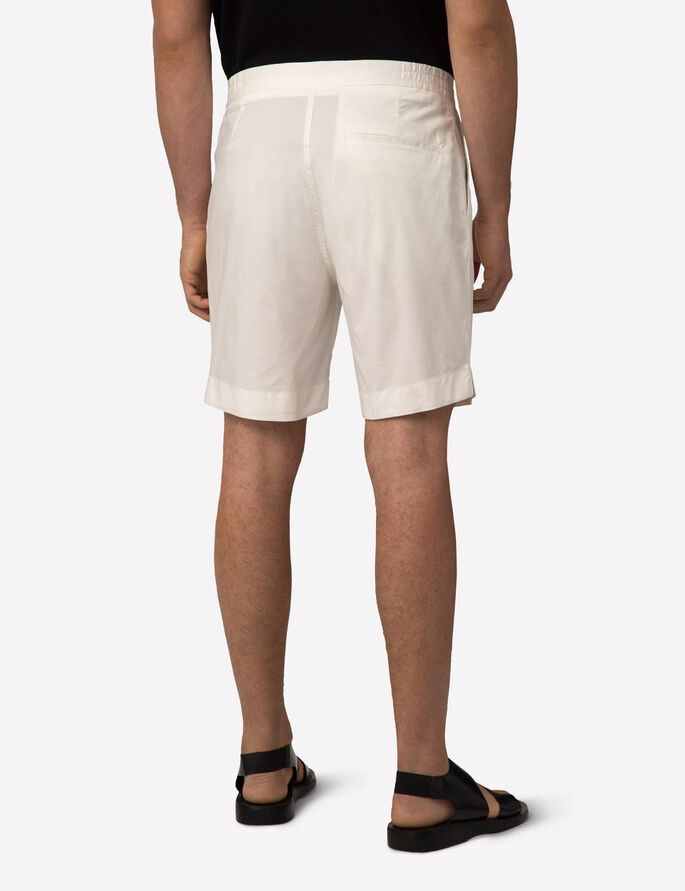 CROPPER FLUID SHORTS, Off White, large