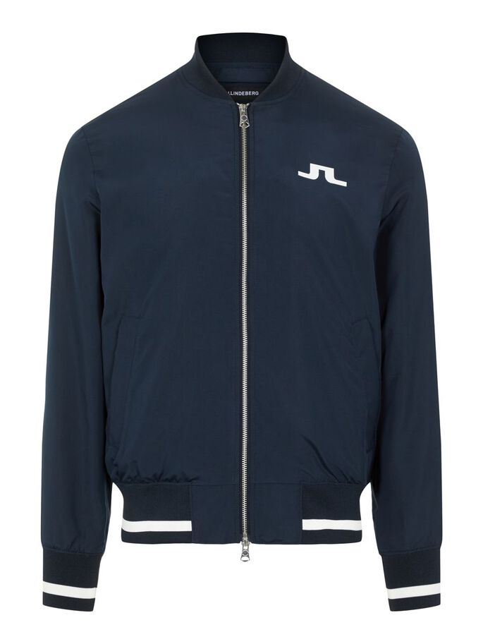 THOM BRIDGE GRAVITY BOMBER JACKET, JL Navy, large