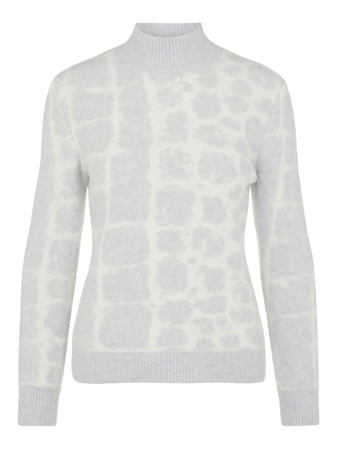 AUBREY KNITTED SWEATER, Micro Chip Croco, large