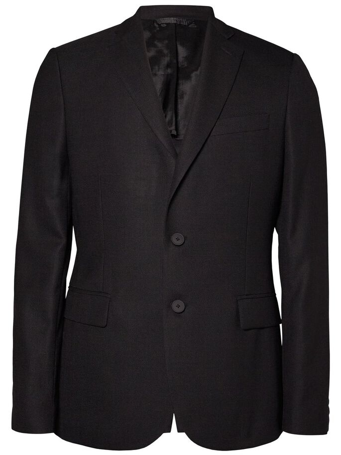 HOPPER SOFT COMBAT BLAZER, Black, large