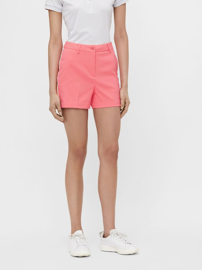 GWEN GOLF SHORTS, Tropical Coral, large