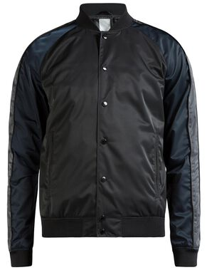 THOMAS 72 BOMBER SATIN JACKET