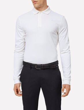 BRANDON LONG-SLEEVED SLIM TX TORQUE POLO SHIRT