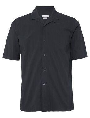 DAVID SEERSUCKER STRIPE SHORT SLEEVED SHIRT