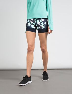 RUNNING COMP POLY SHORTS
