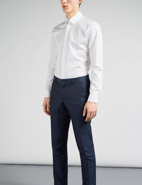 DANIEL BUTTON-DOWN TUX MASON SMOKING SKJORTE