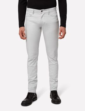 GRANT 5-PKT CONTRAST TWILL JEANS