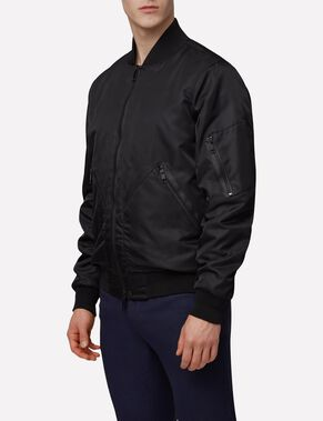 HILL 76 MUTED NYLON BOMBER JACKET