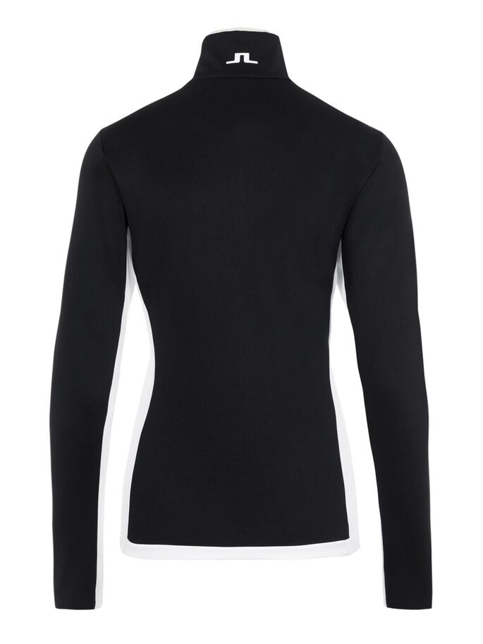 TRACY MIDLAYER SWEATER, Black, large