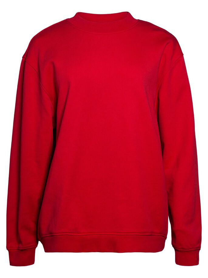RUBINA JL SWEAT- HOODIE, Red Deep, large