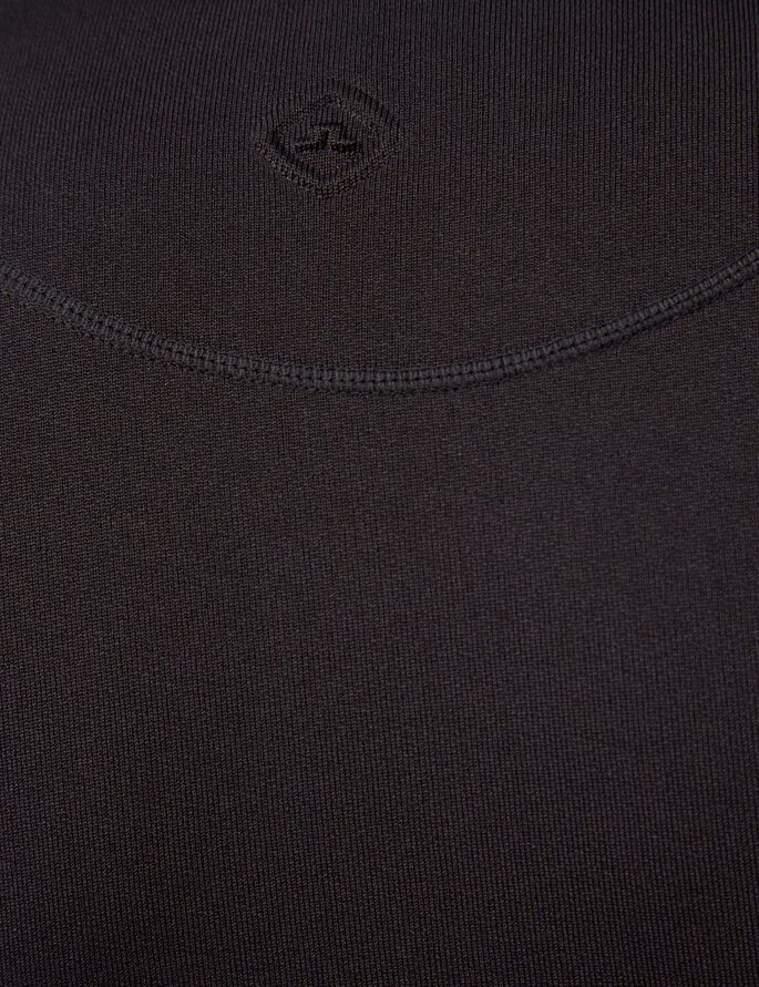 ACT MIX TECH TERRY HOODIE, Black, large