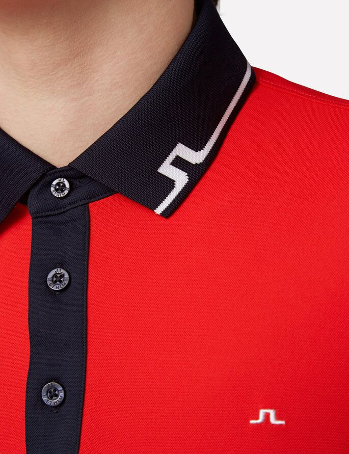 JOHAN SLIM TX TOURQUE POLO, Racing Red, large