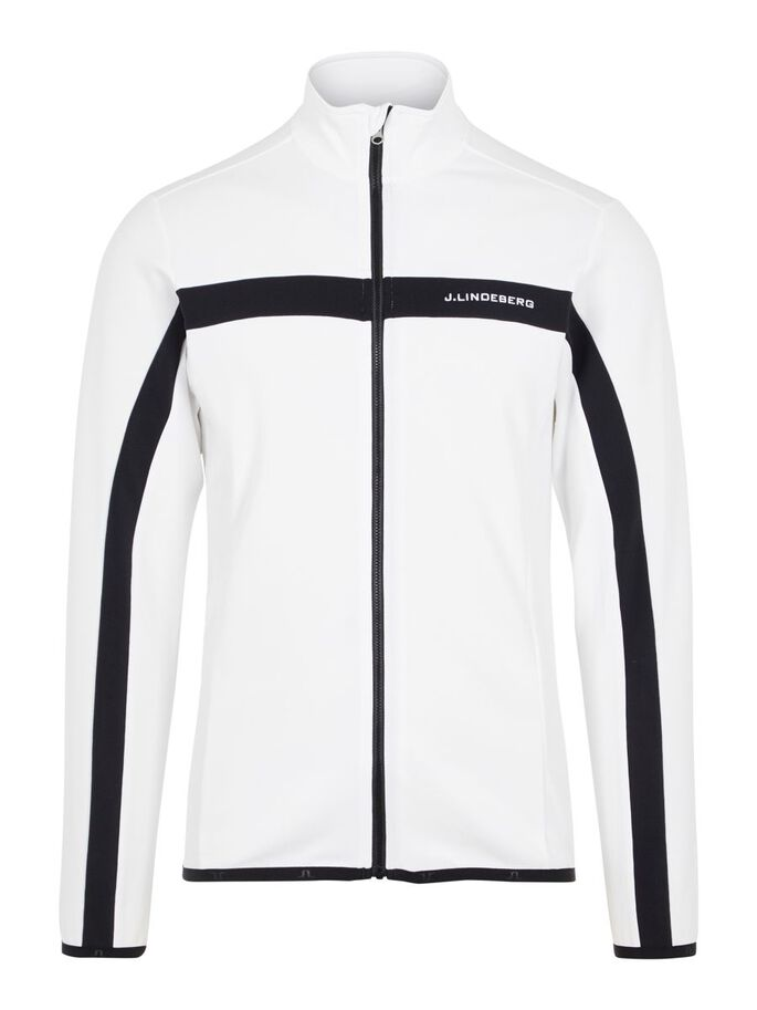 JARVIS MIDLAYER JACKE, White, large