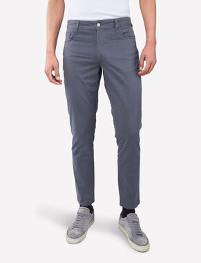 GRANT 5-POCKET CONTRAST TWILL CHINOS