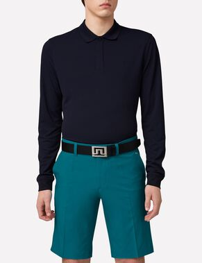 BRANDON LONG-SLEEVED SLIM TX TORQUE POLO