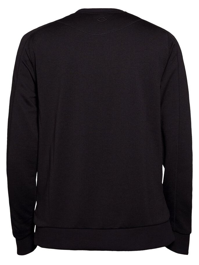 ACT MIX TECH TERRY SWEATSHIRT, Black, large
