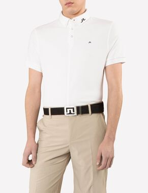 RUBI BUTTON-DOWN REG JL TOUR PIQUE POLO SHIRT