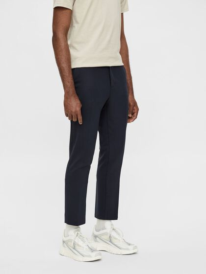 SIAM CROPPED STRETCH TROUSERS