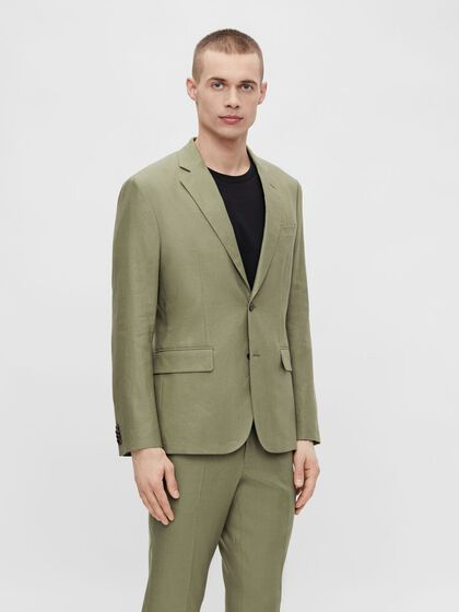 HOPPER TECH LINEN BLAZER